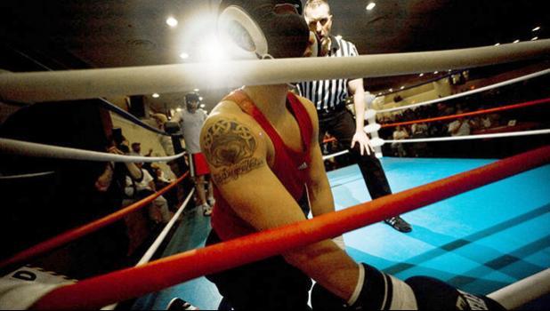 boxer in ring