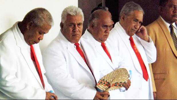 Congregational Christian Church of Samoa pastors