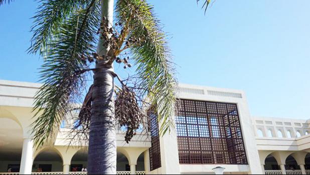 Courthouse in Apia Samoa