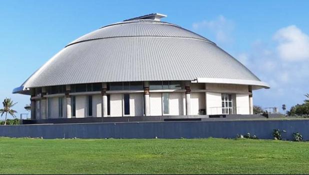 Samoa's new Parliament bldg.