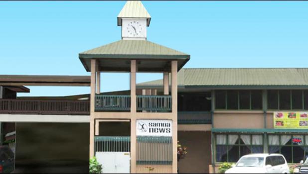 Samoa News building in American Samoa