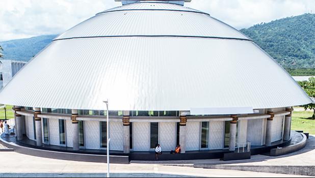 New Samoa Parliament building