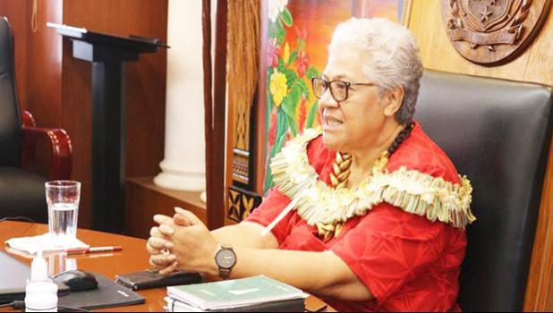 Samoa prime minister Fiamē Naomi Mata'afa