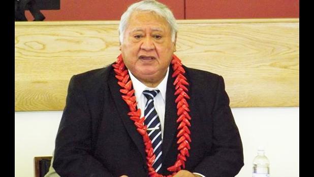 Samoan PM, Tuila'epa Sailele Malielegaoi