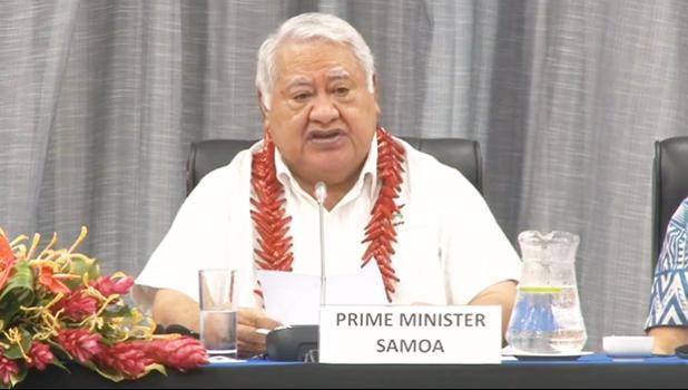 Prime Minister Tuilaepa Dr. Sa'ilele Malielegaoi