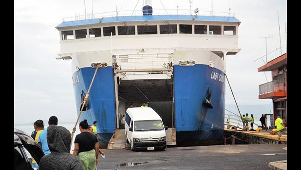 Samoa Shipping Corporation ferry