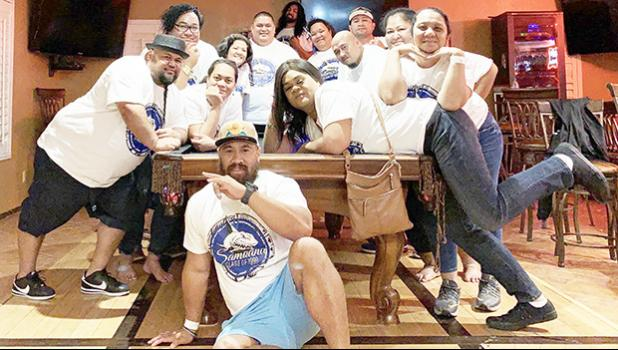 Some members of the Samoana Class of 1999