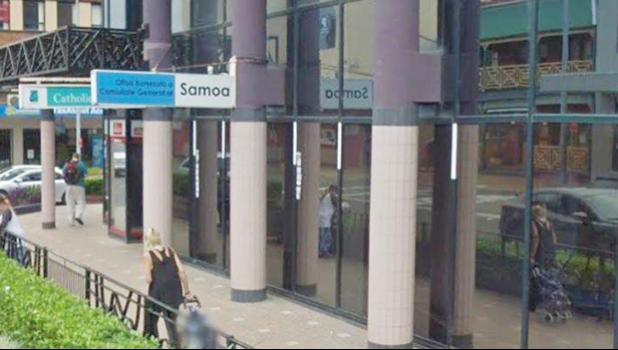 Samoan Consulate in Sydney, Australia.