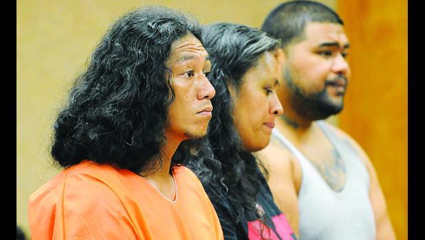 Lama Lauvao, Natisha Tautalatasi and Wesley Samoa