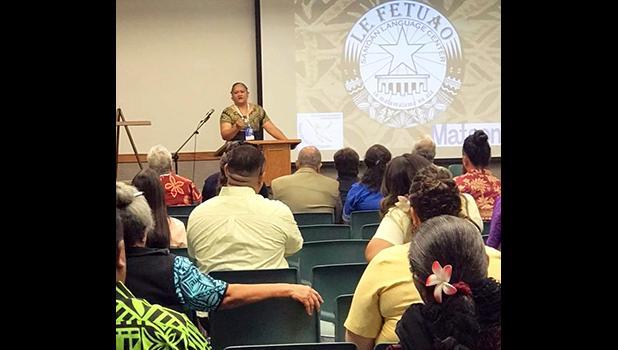 Elisapeta Alaimaleata director of Le Fetuao Samoan Language Center