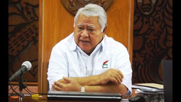 Photo of Samoa Prime Minister Tuila'epa Sailele Malielegaoi