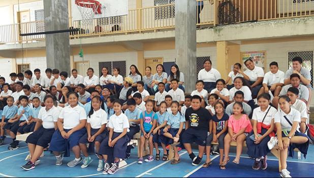 Science Fair students at Manumalo Academy