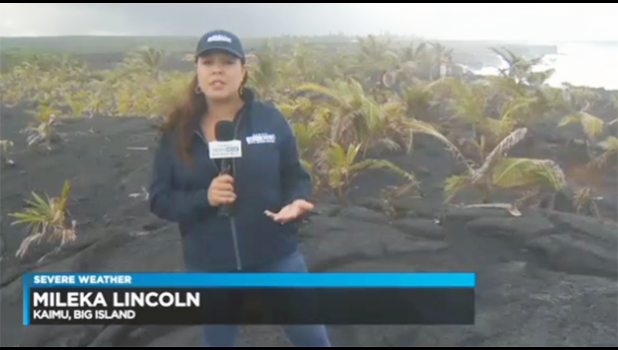 Hawaii News Now reporter on the Big Island