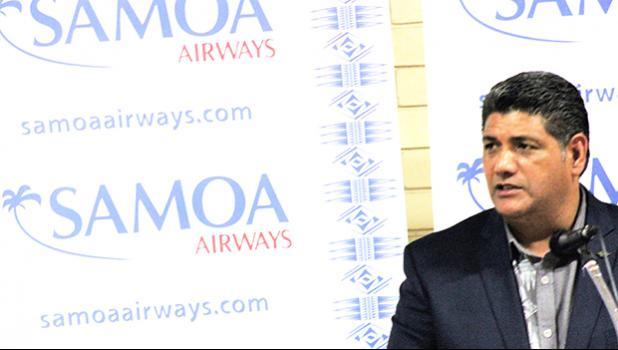 Samoa Airlines CEO Seiuli Alvin Tuala [courtesy Photo]