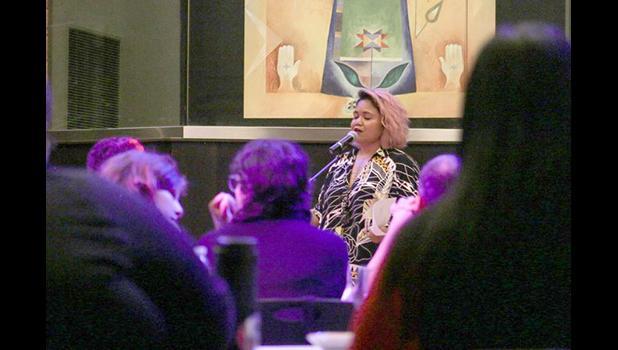 Terisa Siagatonu, touring poet