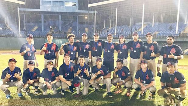 Members of American Samoa's U18 National Baseball Team