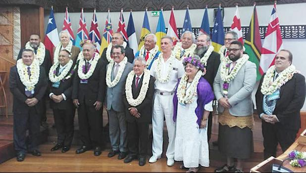 Presidents and Speakers of Parliaments and Legislatures of the 14 Pacific Island Nations