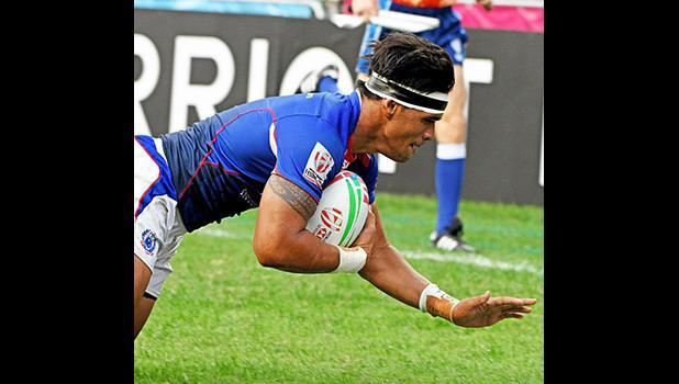 Tofatuimoana Solia scores Manu Samoa's final