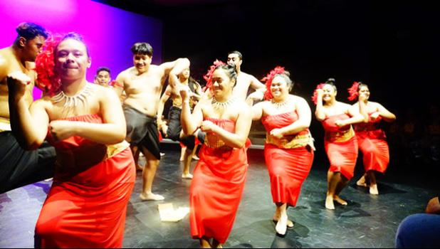 South Auckland youth doing a traiditonal dance