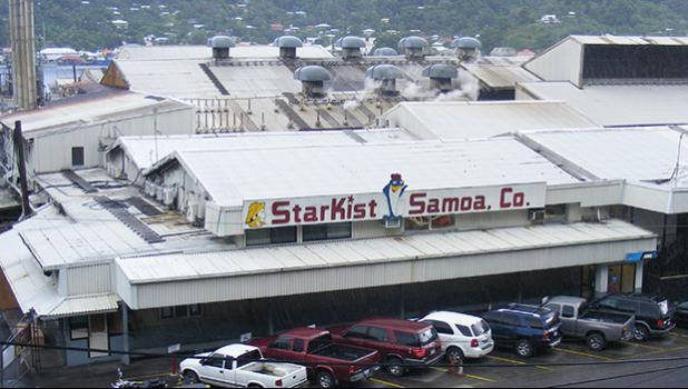 StarKist canning plant in American Samoa