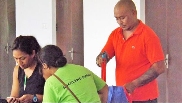 Talalelei Pauga and his legal team