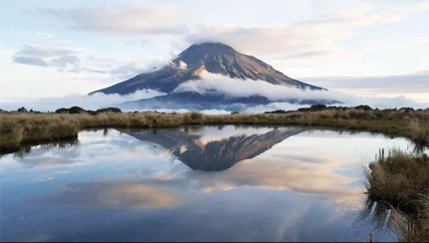 Kanihi hapū chair Daisy Nobel said there was a spiritual element to Mount Taranaki.  [Photo: Supplied / Jeremy Becker]