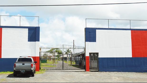 Main entrance to the Territorial Correctional Facility