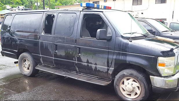 photo of the TCF van