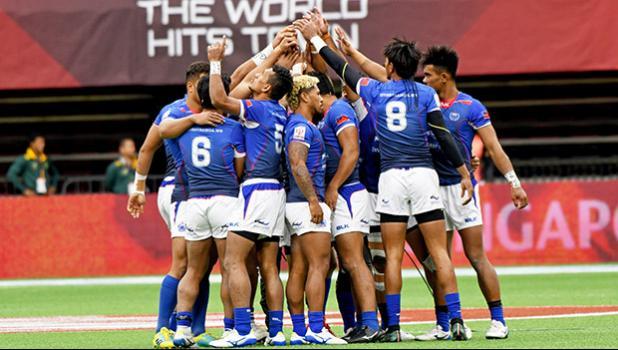 Manu Samoa team