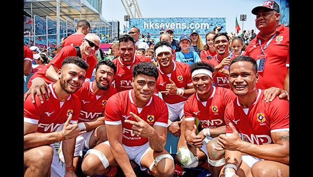 A joyous Team Tonga 7s