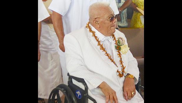Aumoeualogo Te'o J. Fuavai in a 2018 file photo