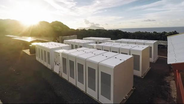 Telsa Powerpacks on Tau Island, Manu'a