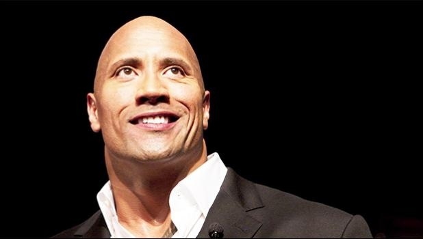 "Dwayne Johnson, the former WWE superstar known as ""The Rock"" [photo Quartz Media]"