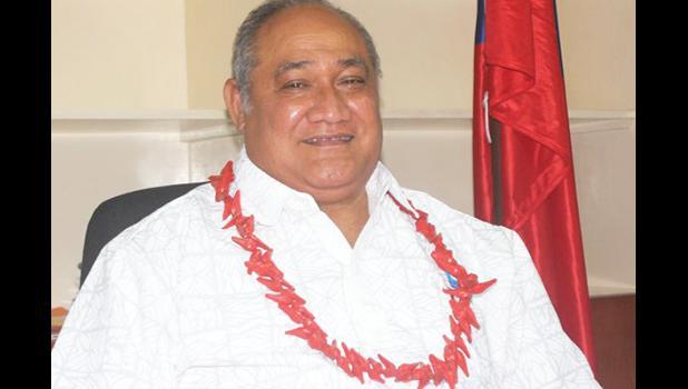 Samoa Minister for Revenue, Tialavea Tionisio Hunt
