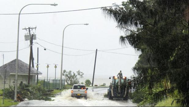 Cyclone destroys Parliament House, homes on Tonga, Fiji next [photo: AP]