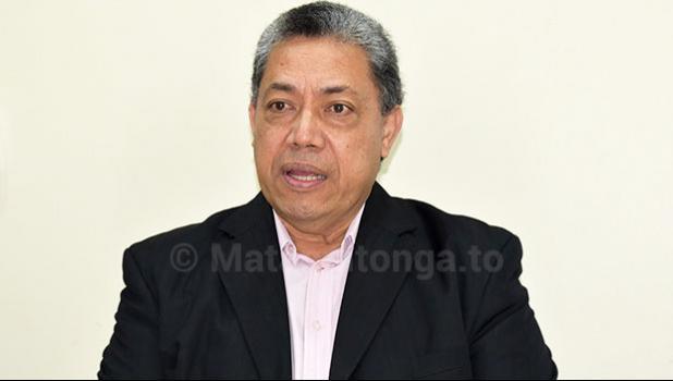Ministry of Health CEO Dr Siale 'Akau'ola
