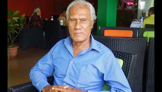 Tonga's prime minister 'Akilisi Pohiva