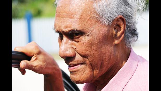 The late Tongan prime minister 'Akilisi Pohiva.