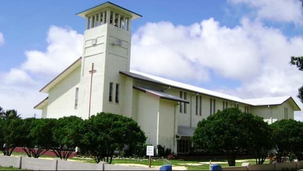 The Free Wesleyan Centenary Church in Tonga