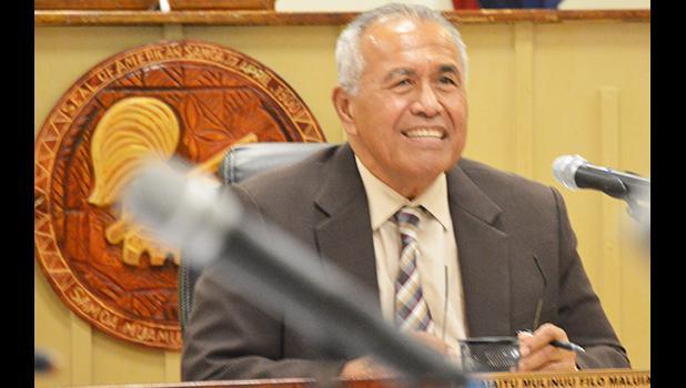 ASG's new Treasurer, Malemo Tausaga