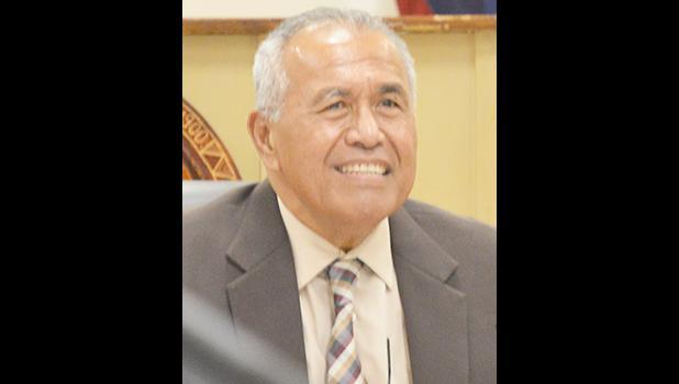 ASG Treasurer Malemo L. Tausaga