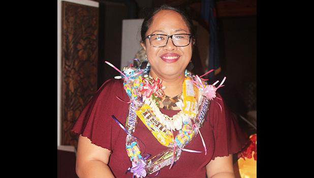 2019 Territorial Teacher of the Year (TTOY), Jordanna Maga