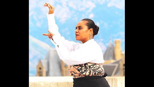 Wellington dancer and choreographer, Tupe Lualua