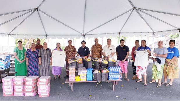 Students from American Samoa include: Gauula Moemoe (Atu'u, AS); Tia Sagapolu (Kaimuki, HI); Nate Kwon (Petesa Uta, AS); Ielu Acosta (Petesa Uta, AS); Jemima Nafatali (Lauli'I, AS); Frantacia Mauigoa (Aua, AS); Kiso Skelton (Pago Pago, AS); H. Gingerlei Porter (Auasi, AS)