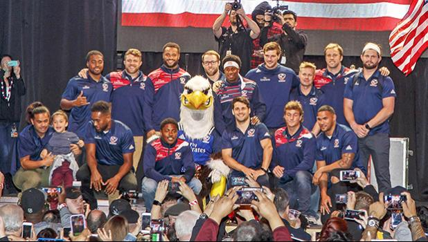 American Samoa's other team, the USA Eagles