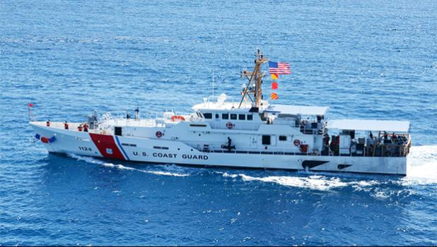 The USCG Cutter Oliver Berry