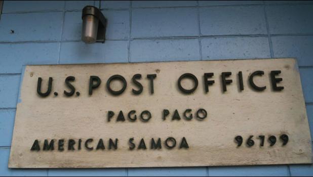 USPS sign at Pago Pago Post Office