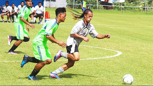 Palaunia Tapusoa of Utulei Youth