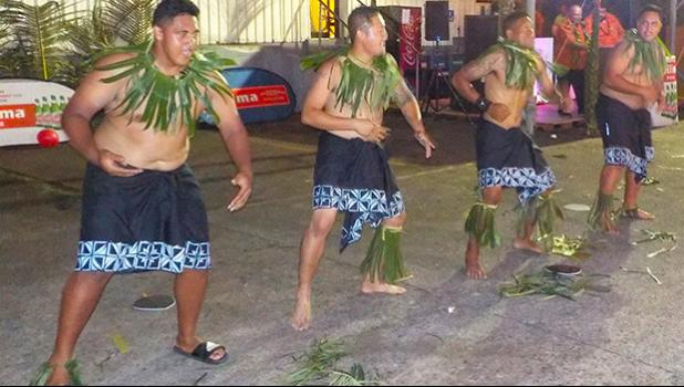 Dancers celebrating GHC Reid Vailima 40th Anniversary
