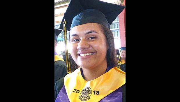 NVTHS 2018 Valedictorian, Jayne F.M. Solofa